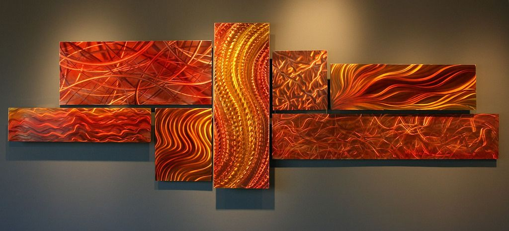 Orange Wall Art   Google Search