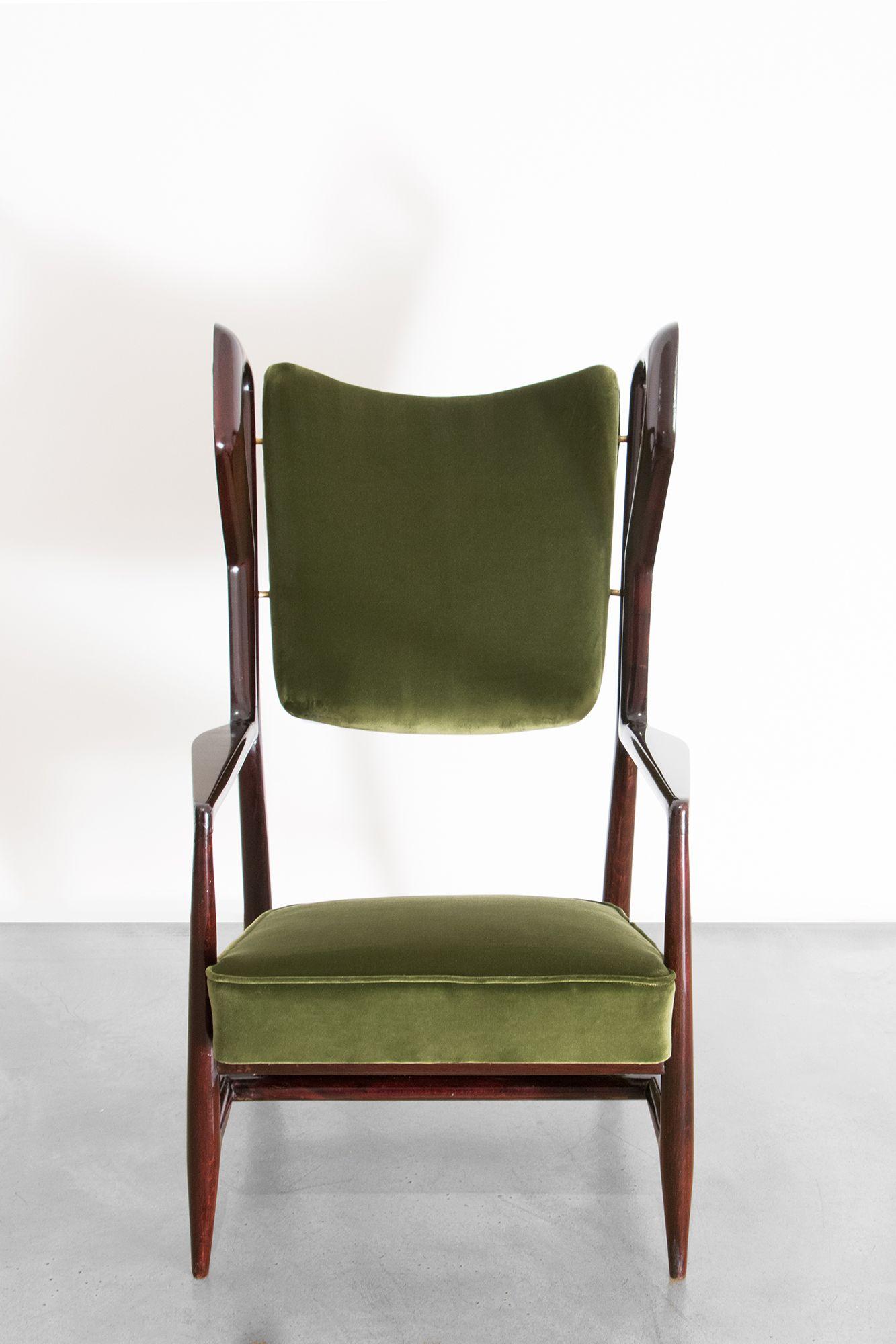 Gio Ponti – Triennale Armchair Furniture Pinterest