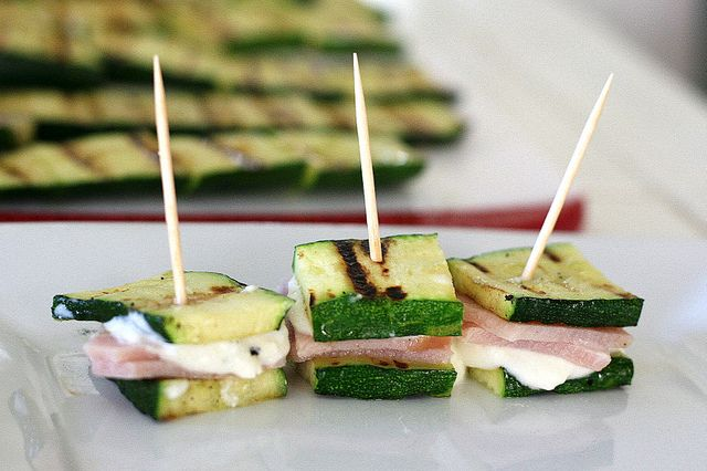 Grilled Zucchini Finger Sandwiches - debating whether my child would likes these or not.  Worth a try.