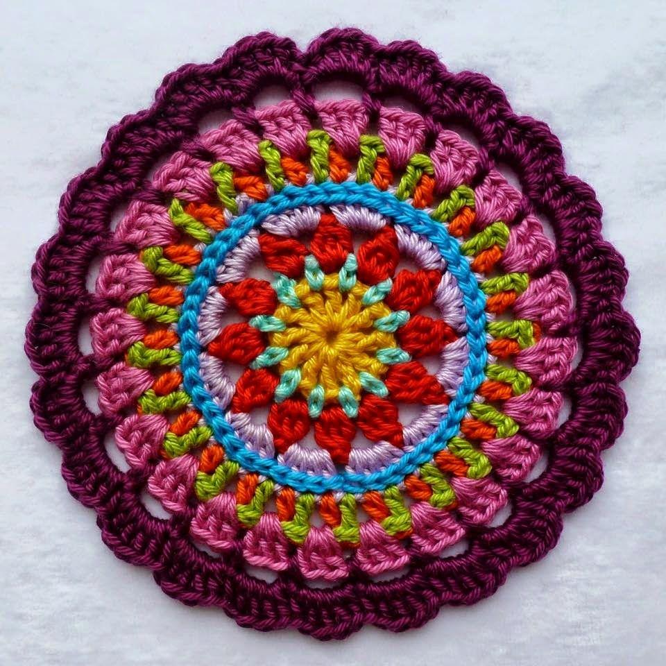 La Magia del Crochet: MANDALAS A CROCHET | mandalas-atrapasueños ...