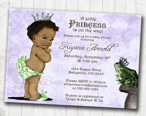 Princess And The Frog Birthday Or Baby Shower By Jjmcbean On