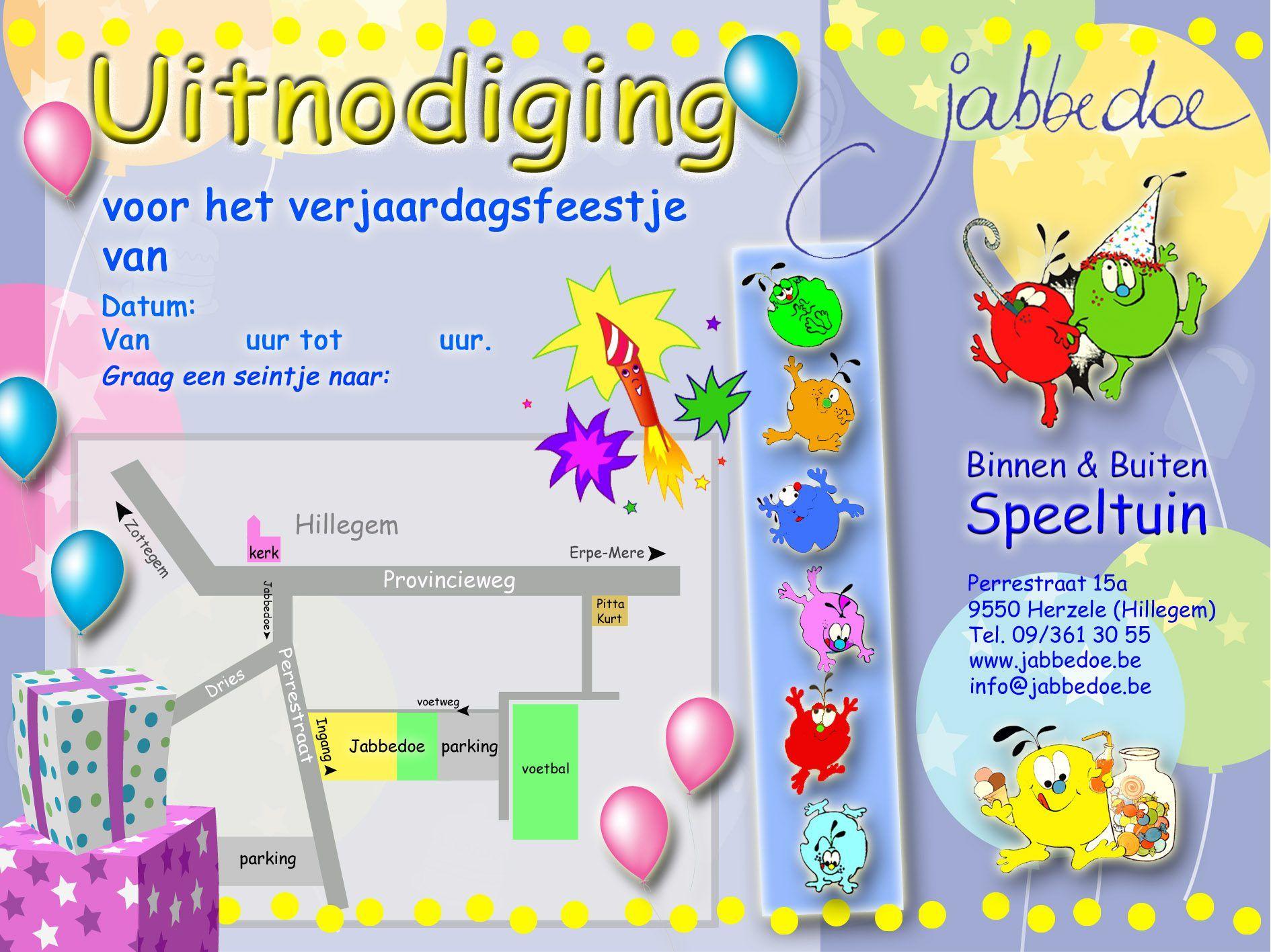 Ongekend Uitnodiging Verjaardag Kind : Uitnodiging Verjaardag Kind 5 Jaar IG-07