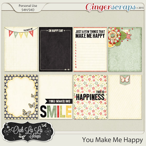 {You Make Me Happy} Digital Journal Cards by Ooh La La Scraps available at Gingerscraps http://store.gingerscraps.net/You-Make-Me-Happy-Journal-and-Pocket-Scrapbooking-Cards.html and Gotta Pixel http://www.gottapixel.net/store/product.php?productid=10018279&cat=&page=1 #digiscrap #digitalscrapbooking #justsoscrappy #youmakemehappy