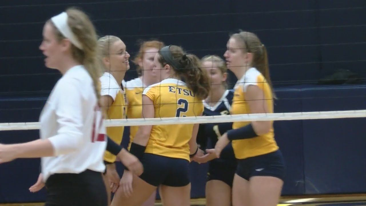 Etsu Volleyball Drops Troy In Straight Sets Volleyball News Volleyball Troy