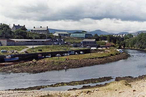 Brora to Cape Wrath, Summer 1980, Brora (photo 1) by gillean55, via Flickr