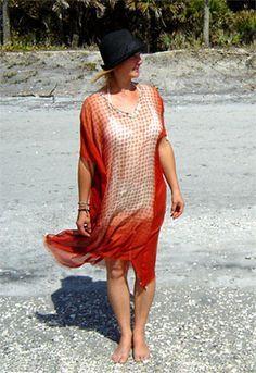 Strandkleid selber nähen   Strandkleid, Frauenkleider ...