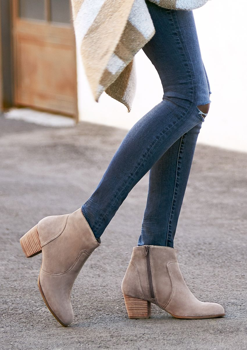 37180adf61639 The most versatile booties you'll ever own Fall Booties, Buy Shoes, Me