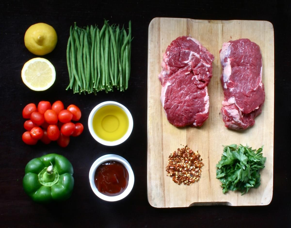 Organic ribeye fresh ingredient porn pinterest for Cuisine 5 ingredients