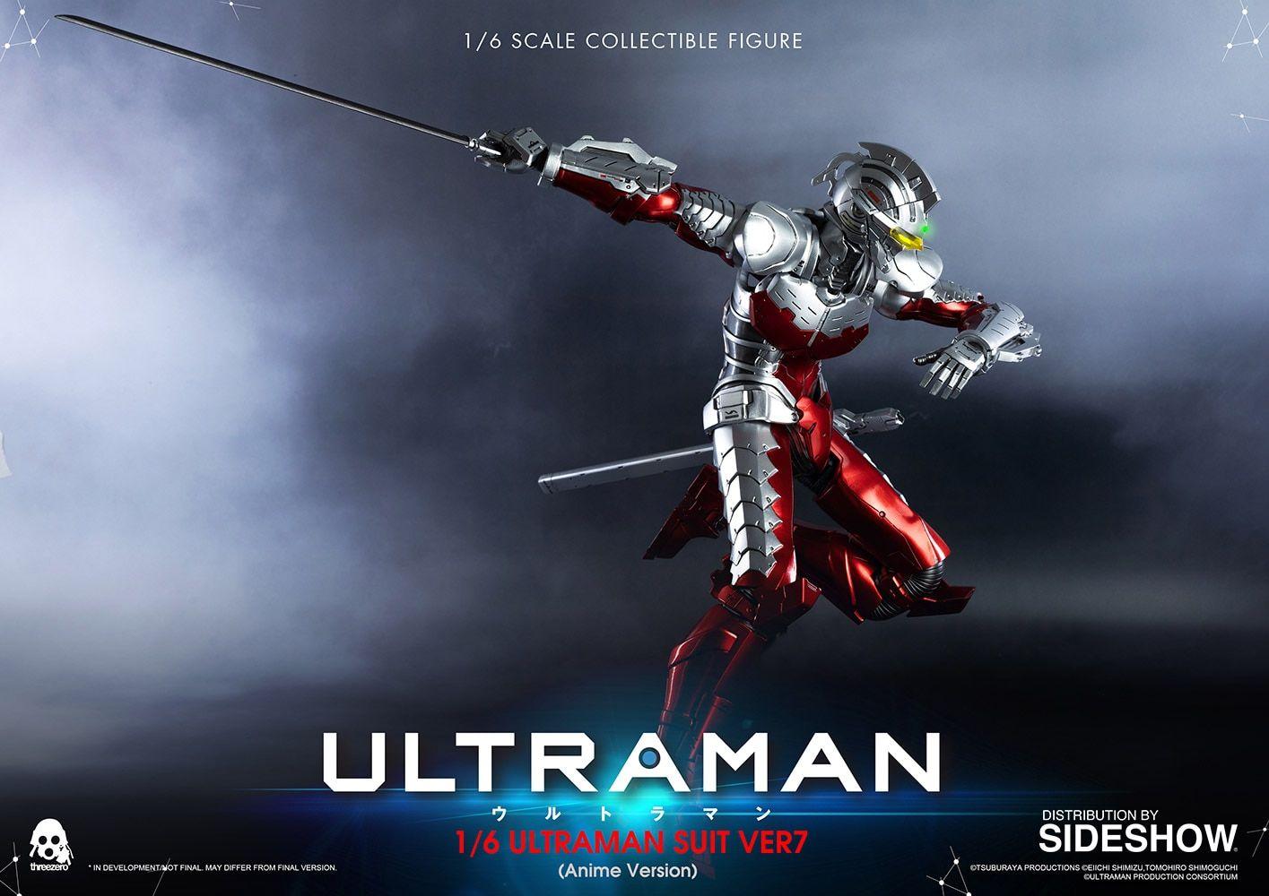 Ultraman Suit Ver7 (Anime Version) Sixth Scale Figure