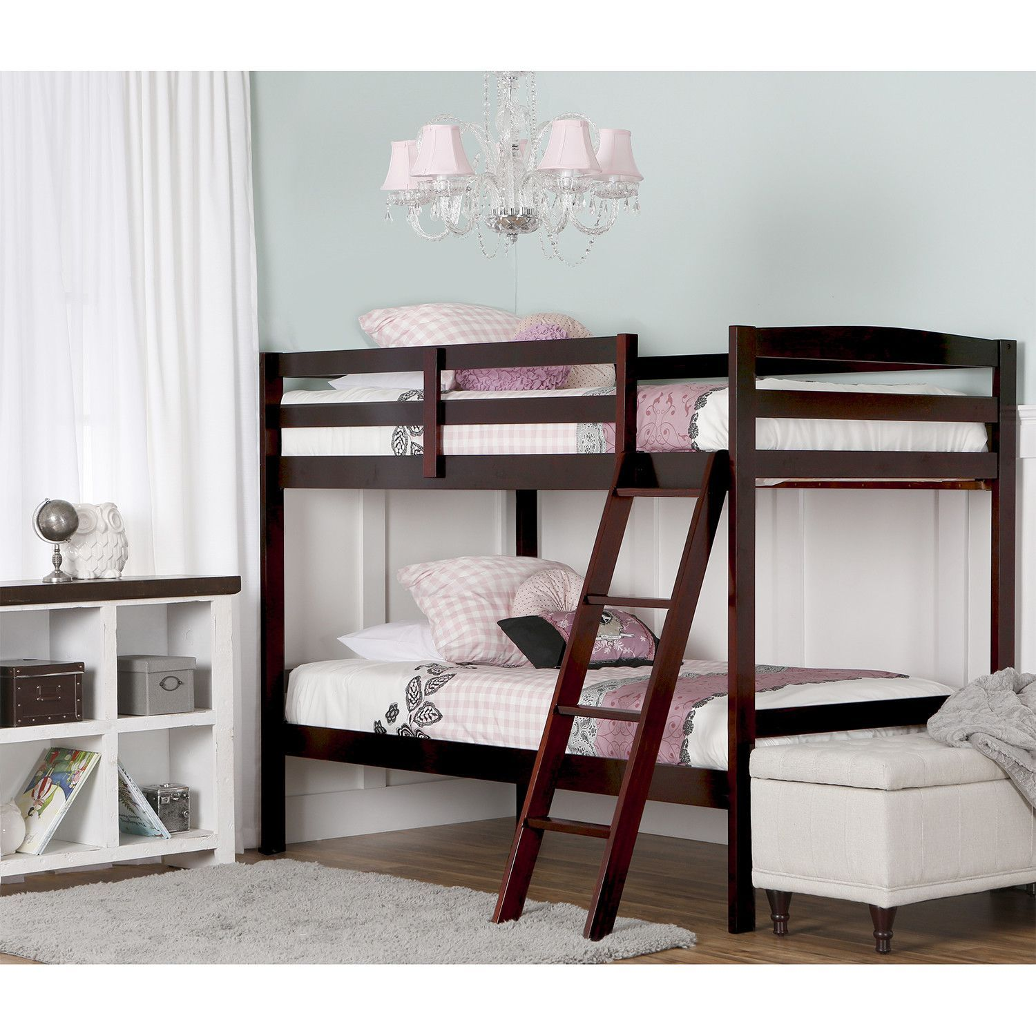 Taylor Twin Bunk Bed (With images) Twin bunk beds, Bunk