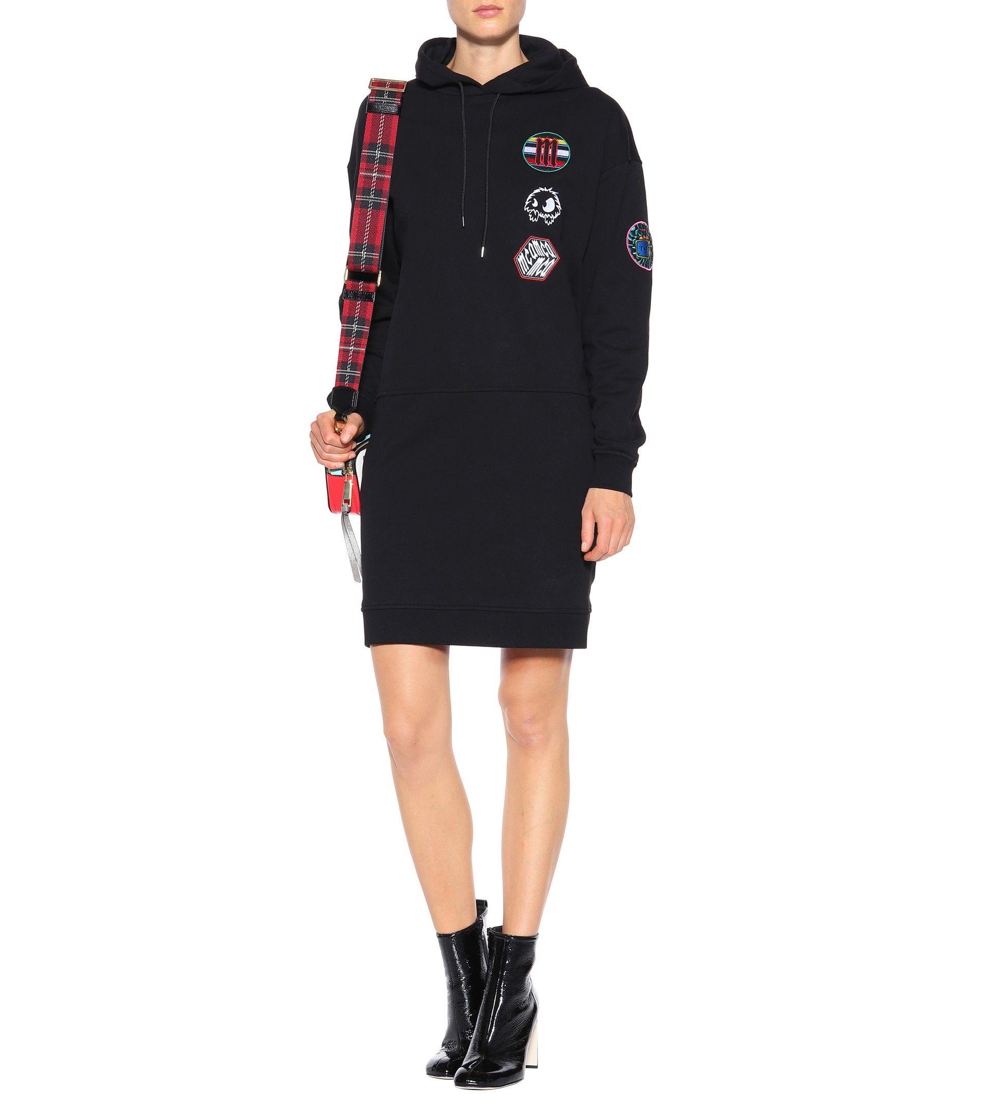 McQ Alexander McQueen Cotton hoodie dress mytheresa