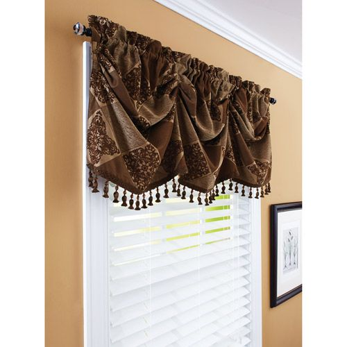 Walmart Better Homes And Gardens 52 Boucle Curtain Valance