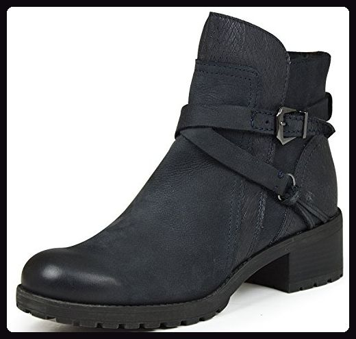 sports shoes 206d7 0cc2e Marco Tozzi 2-25470-27 Damen Biker Boots blau ( navy ) (40 ...
