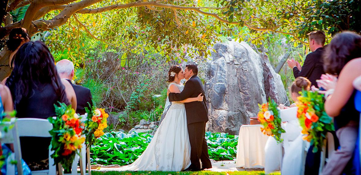 Paradise Falls All Inclusive Venue Oceanside 90 Per Person And 100 Person Min Min 9 000 I Like B Outdoor Wedding Venues Outdoor Wedding Fall Wedding Venues