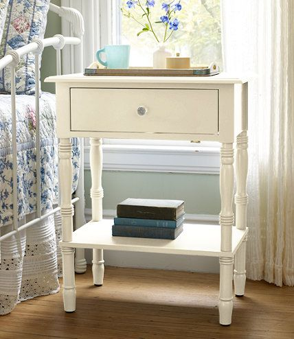 Lakeside End Table: Dressers and Nightstand at L.L.Bean - We are ...