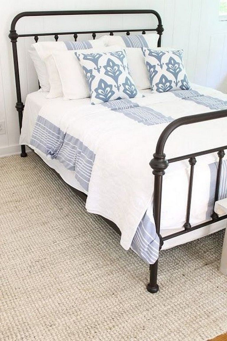 Best 25 Cool Black Wrought Iron Bed Frame Designs Bedroom 640 x 480