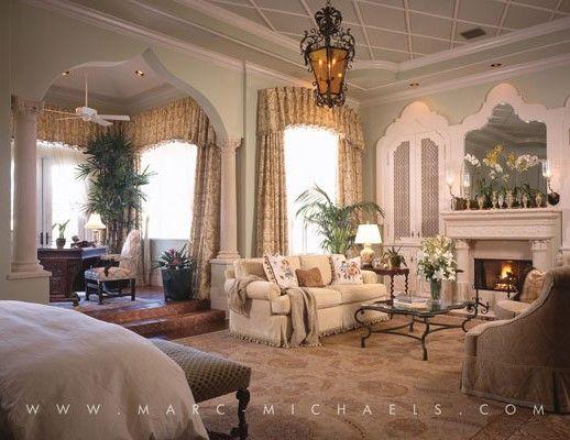 View Boca Raton Interior Decorating firm, Marc-Michaels, portfolio showcasing Classic Mediterranean interior designs.
