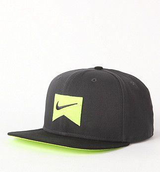 Nike Ribbon Volt Snapback Hat Nike Hat Snapback Hats Baseball Caps Fashion