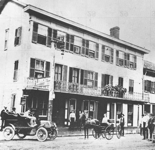 The Florentine Hotel In 1905 Germantown Ohio My Hometown