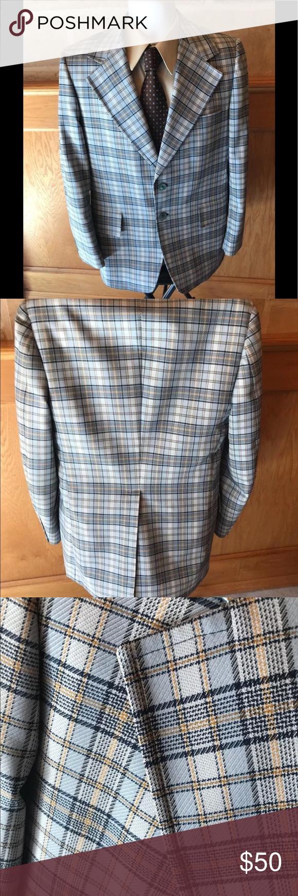 Vintage Curlee mens sport coat Mens sport coat, Sport