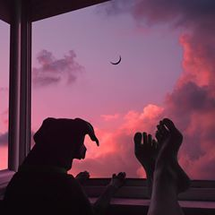 what more could i possibly wish for? our perfect sunday💕 🎼b.smetana/vltava • • • • • #indg0 #art #night #photography #picture #drawing #digitalart #design #bnw #music #traveling #love #happy #pet #lfl #f4f #dogsofinstagram #dog #gsp #doberman #sky #paradise #aesthetic #nature #beauty #space #love #surreal #moon