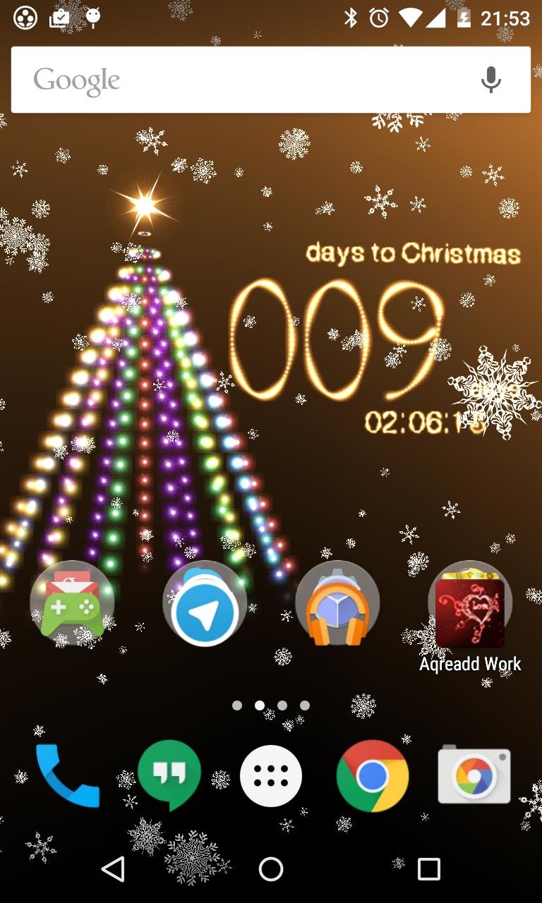 Christmas countdown live wallpaper Live wallpapers