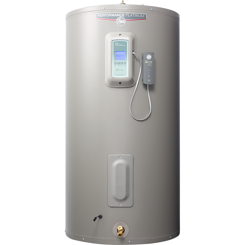 Rheem Econet Water Heaters Offer Affordable Water Heating Solutions For Households Of Any Size That You Can Connect Water Heater Smart Home Smart Technologies
