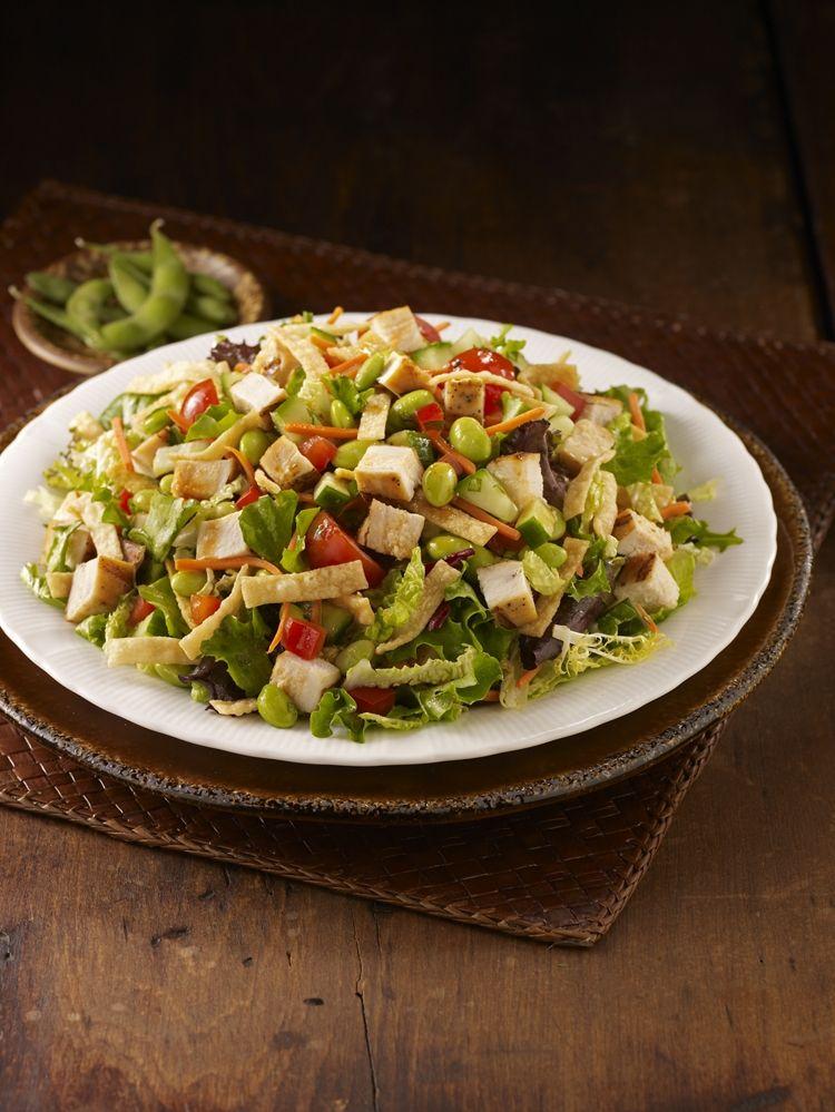 image regarding Corner Bakery Printable Menu named Asian Wonton Salad as a result of @Corner Bakery Restaurant Choices of Summertime
