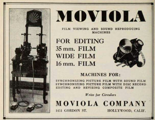 Image result for moviola machines