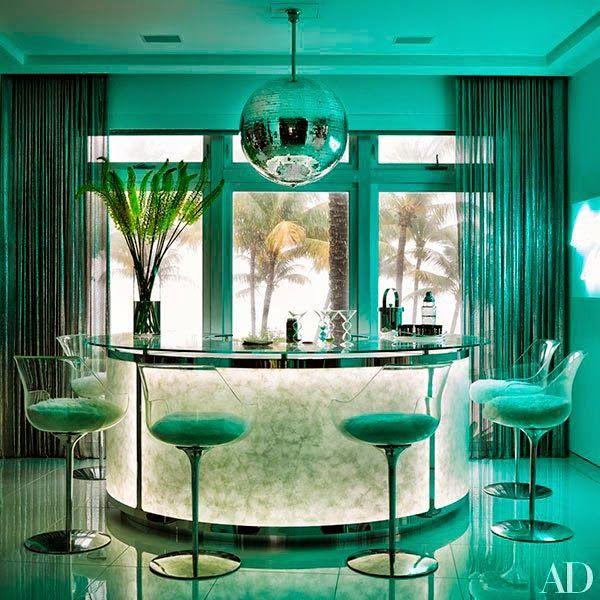 Tommy Hilfiger Home Decor: La Colorista Casa De Tommy Hilfiger En Miami · The Home Of