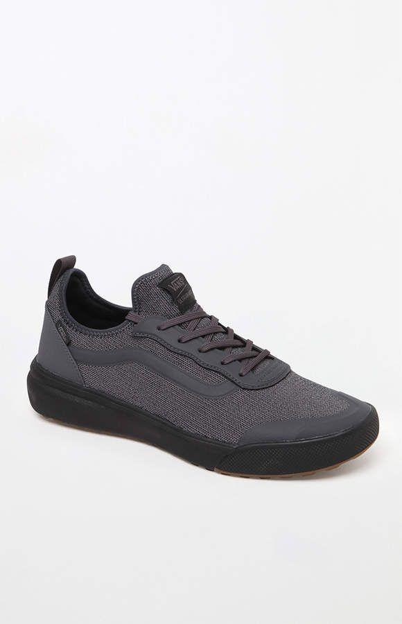 Vans Knit UltraRange AC Black Shoes | Products | Black shoes