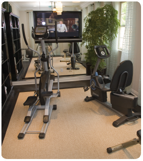 Small Home Gym Ideas. Beautiful Small Home Gym Design Home Ideas ...