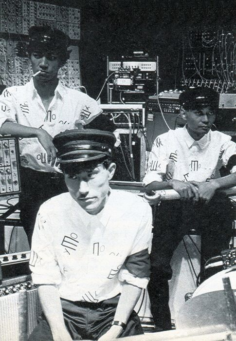 true pioneers of sound gadgetry - YMO