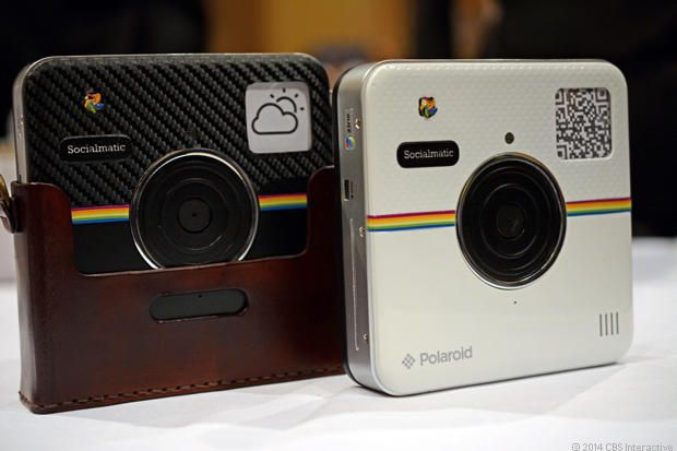 Camera Vintage Android : Polaroid s android powered socialmatic gives you two ways to share