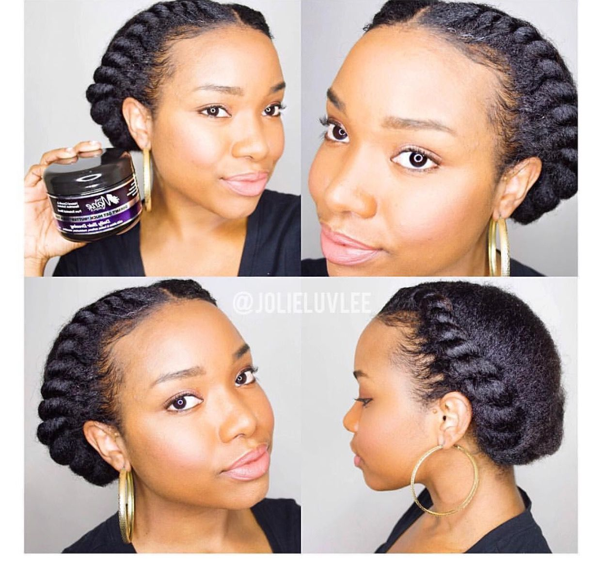 Pin By C S On Hair Protective Hairstyles For Natural Hair
