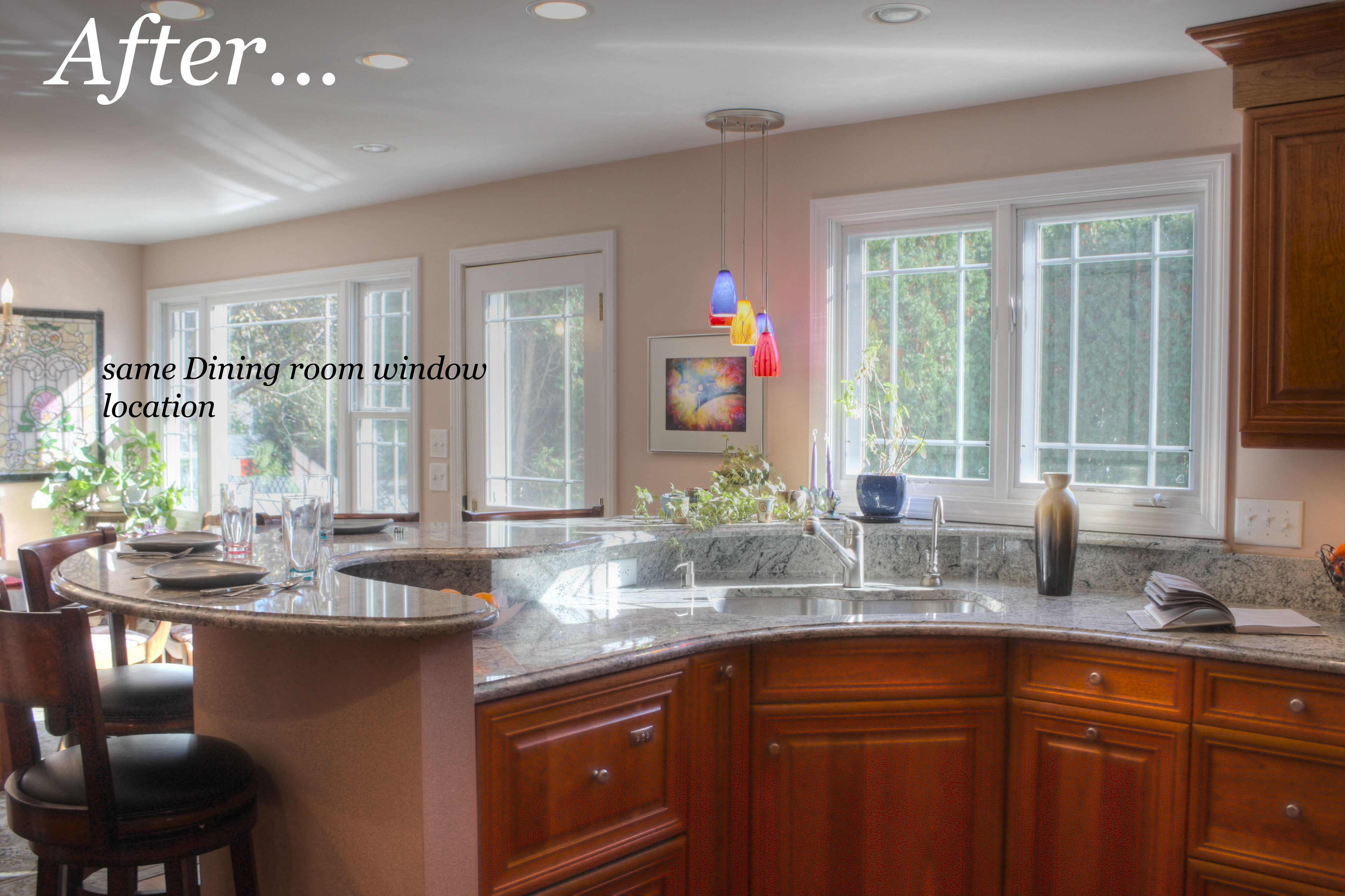 nashua, nh – kitchen remodel – from 1960's knotty pine to unique
