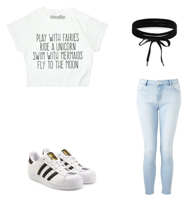 """""""Untitled #33"""" by princxssb on Polyvore featuring Witchery, adidas Originals and Boohoo"""