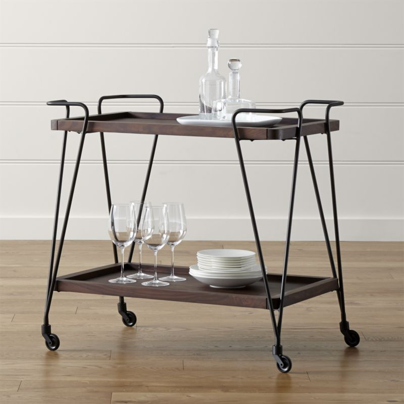Prost Bar Cart In Bar Cabinets U0026 Bar Carts | Crate And Barrel