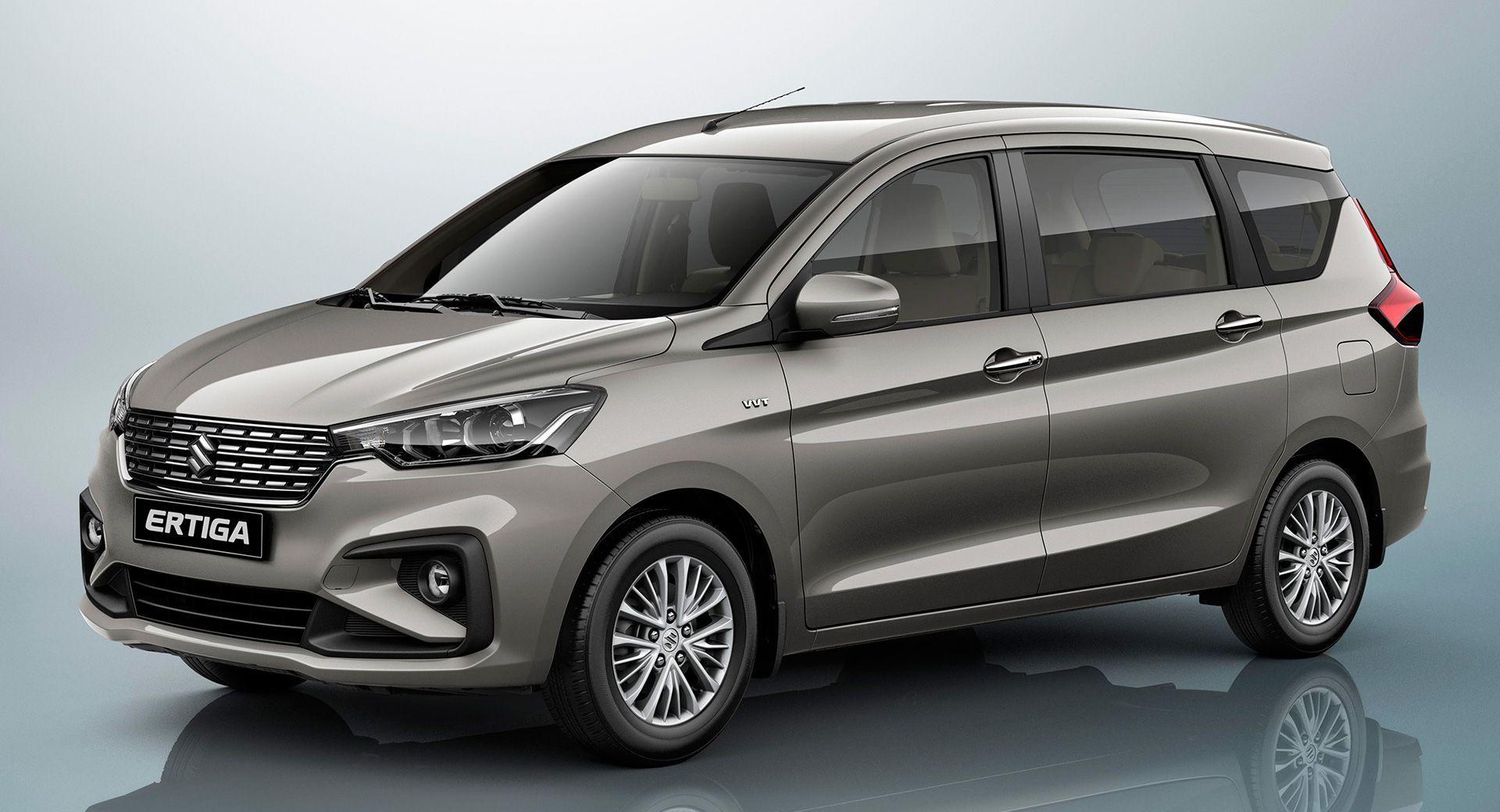 Suzuki Reveals An All New Ertiga Minivan At Indonesia Auto Show
