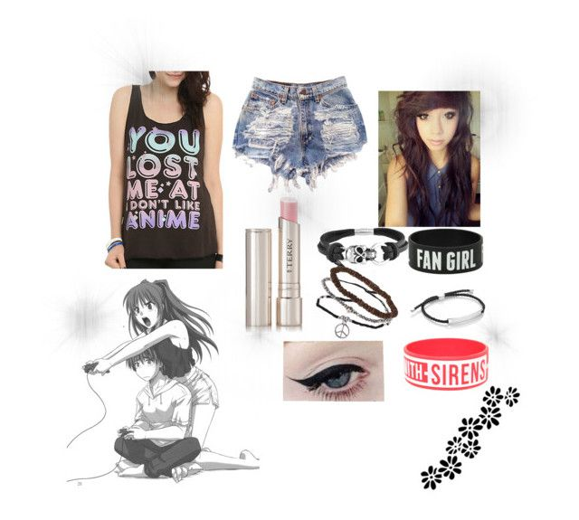 """""""You lost me at i don't like anime *read Description*"""" by brit-wit ❤ liked on Polyvore"""