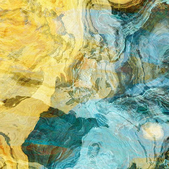 Contemporary art abstract giclee canvas print by FinnellFineArt