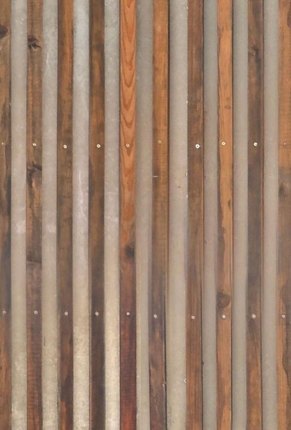 timber slats on concrete seamless texture