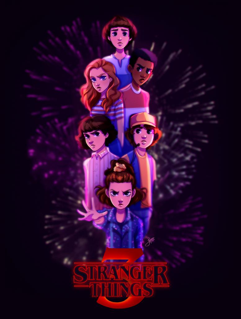 Stranger Things by Jessibrasilart on DeviantArt