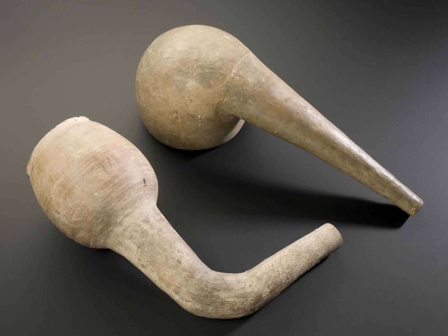 Earthenware retort, Europe, 1801-1930