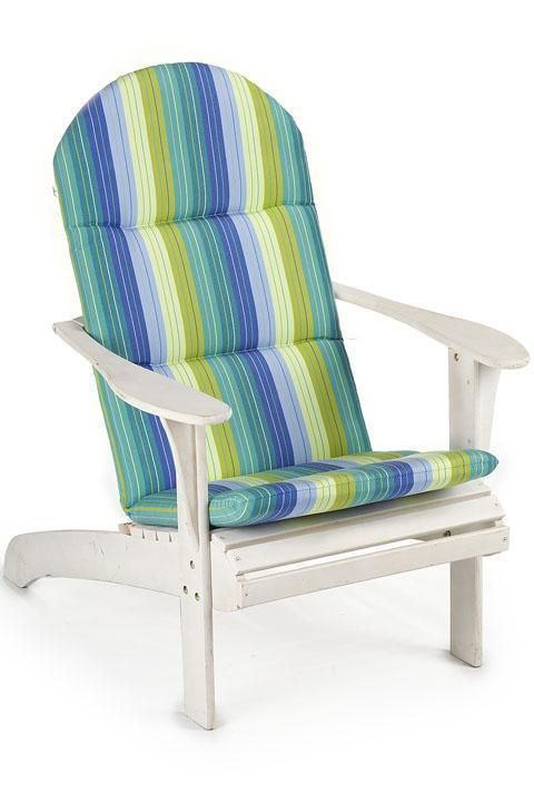 bullnose adirondack outdoor chair cushion house stuff pinterest