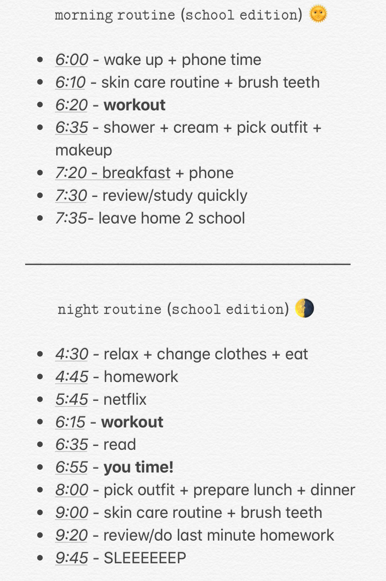 Pin by Azra on Self care in 2019 | Morning routine school