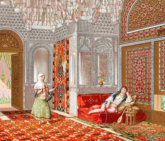 Persian Talar, or Portico (1888 Chromolithograph) | Architecture ...