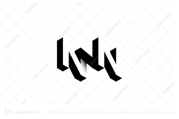 Triple N Or Z Logo Branding Design Logo Typographic Logo Monogram Letters