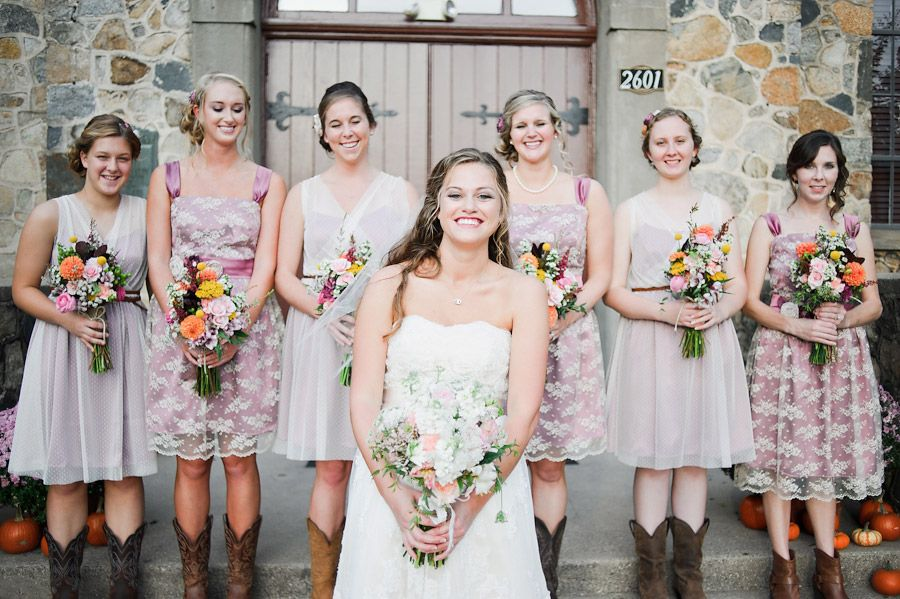 Two different style Bridesmaid dresses, vintage style - Beautiful ...