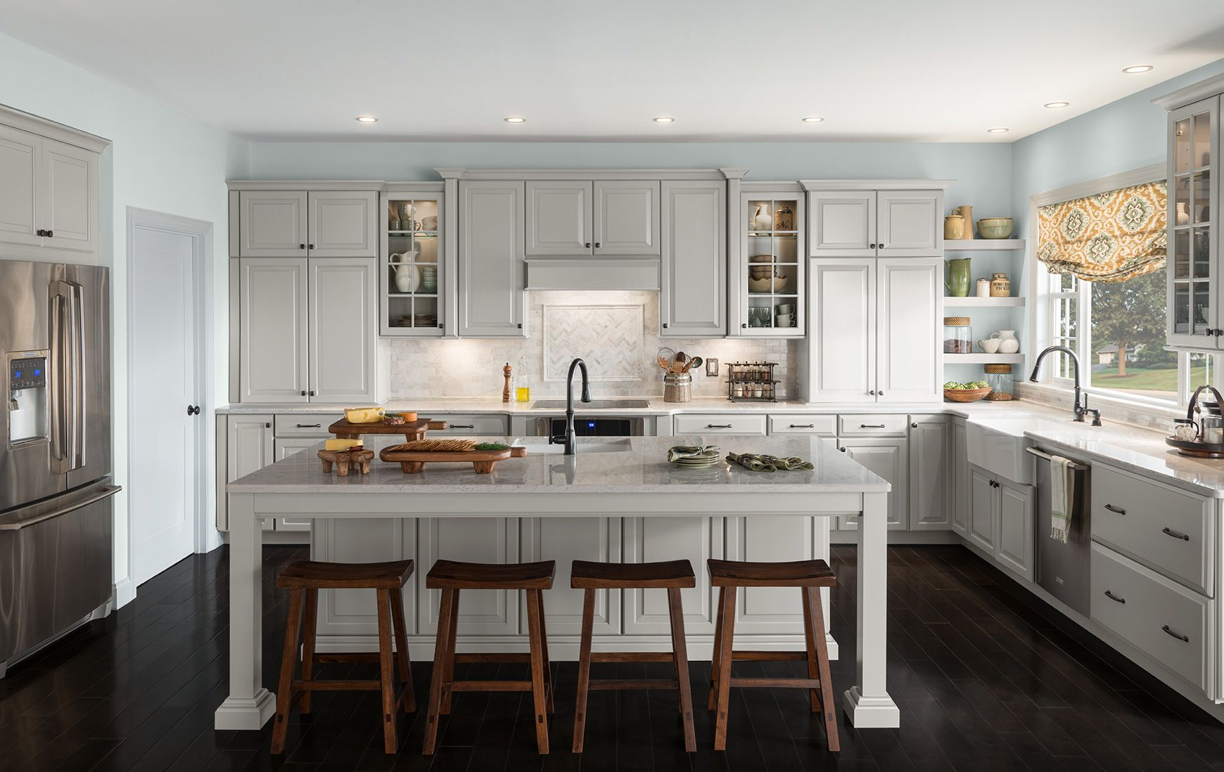 Shenandoah Cabinetry Kitchen Painted Stoned Winchester Door Kitchen Cabinets Home Depot Black Kitchen Cabinets Hickory Kitchen Cabinets